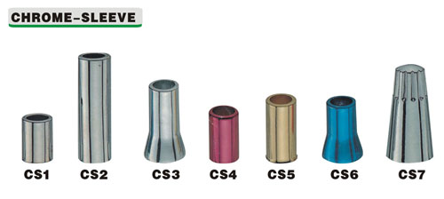 Chromr Sleeve Car Tire Valve